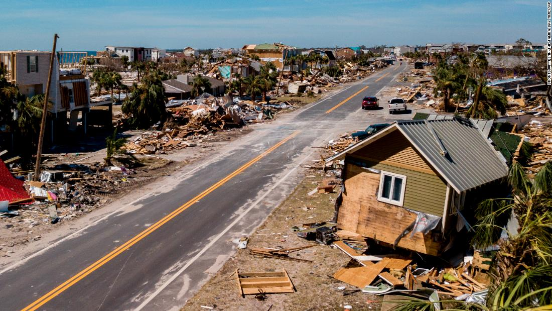 Florida after Hurricane Michael: Thousands join recovery efforts as