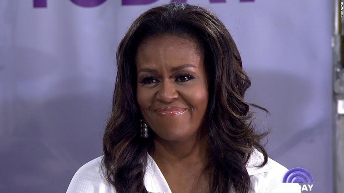 Washington Post: Michelle Obama says in memoir she'll 'never forgive' Trump for endangering her family