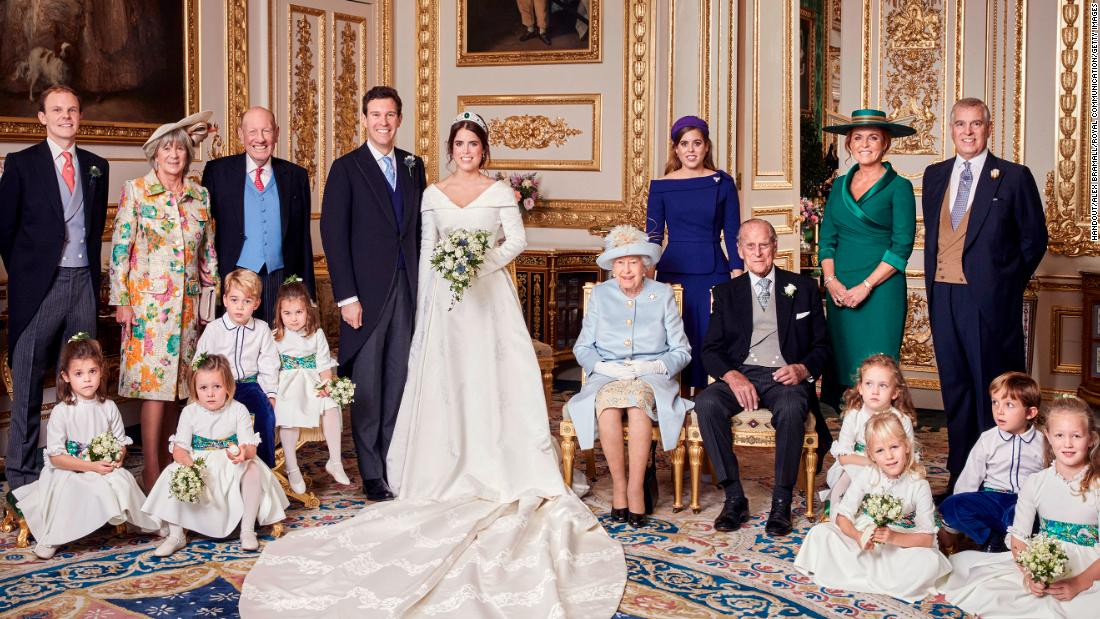Princess Eugenie Of York And Jack Brooksbank Release Official