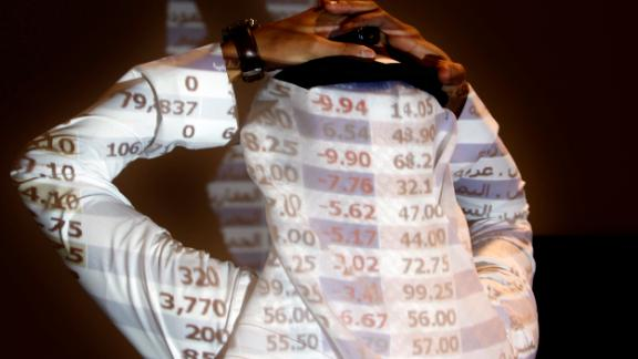 "The Saudi stock market sharply fell Sunday after President Donald Trump threatened ""severe punishment"" over the disappearance of Washington Post contributor Jamal Khashoggi."