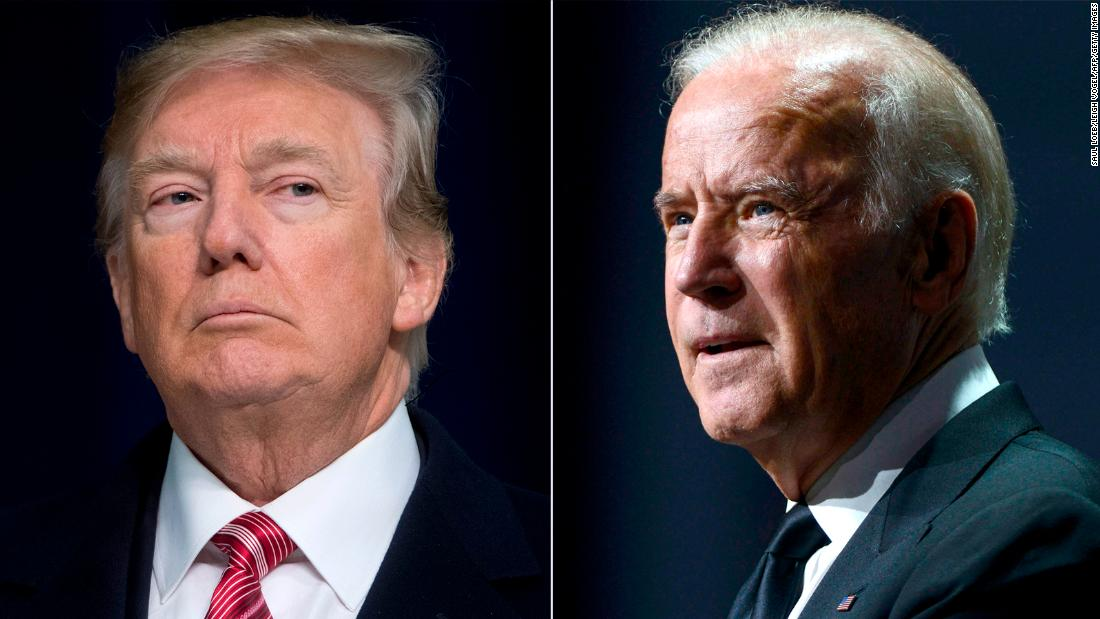 Biden takes swipe at Trump in Nevada: 'It's all about Donald'