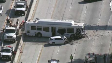 Los Angeles bus accident injures at least 25