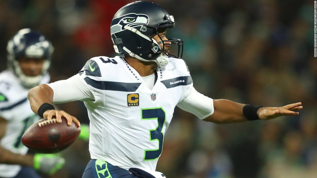 0ff59b9b NFL London: Seattle Seahawks right ship with big win over Oakland Raiders  on overseas trip - CNN