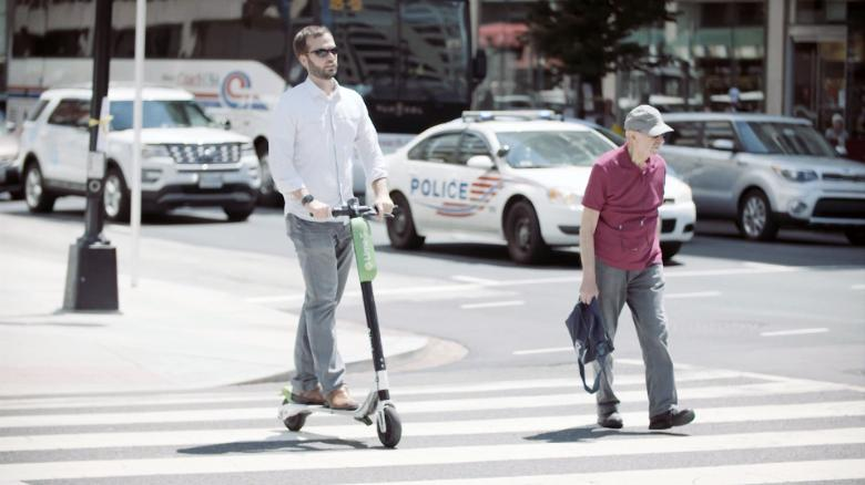 The age of scooter sharing is upon us