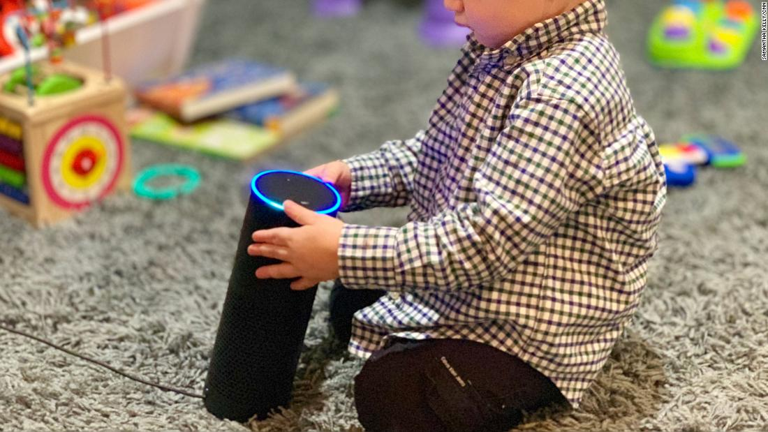 More young children are interacting with voice assistants like Alexa.