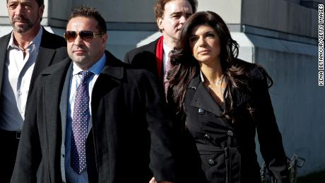 Joe and Teresa Giudice in a file photo from 2013.