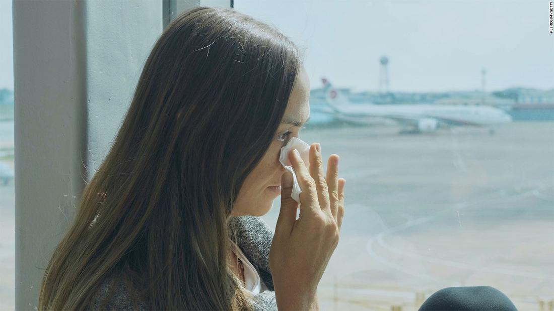 Why are we more likely to cry on airplanes?