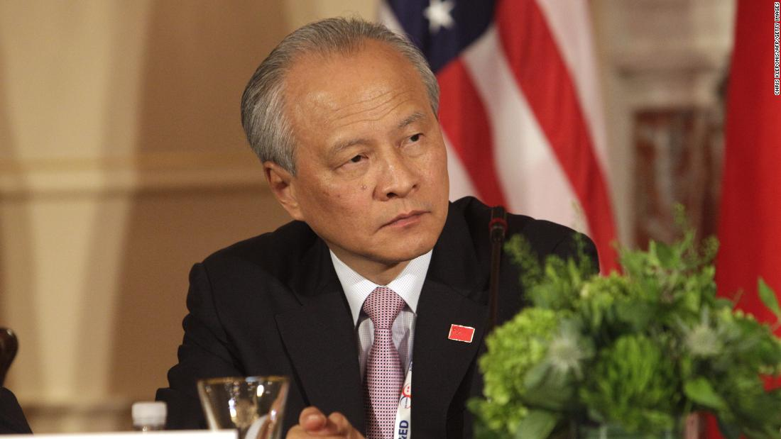 Chinese ambassador to US says Beijing doesn't know who to deal with