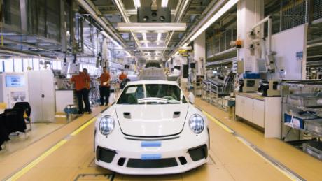 Take A Look Inside Porsche S Main Factory