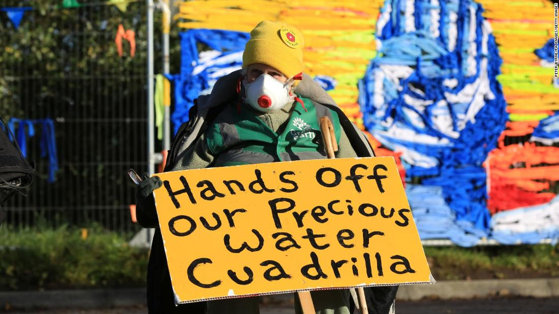 Fracking commences in UK for first time since 2011, draws protests