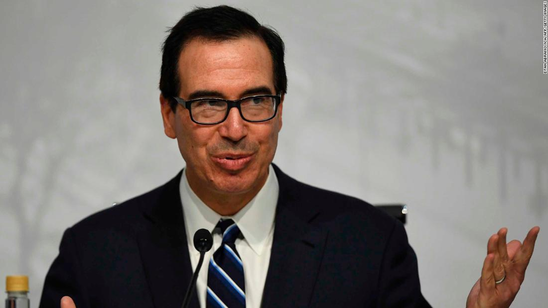 Mnuchin not participating in Saudi conference