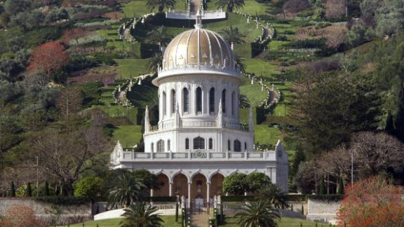 In the Israeli port city of Haifa, future erosion from rains and rising sea levels will eat away at the foundations of such wonders as the terraced gardens and the golden Shrine of Bab.