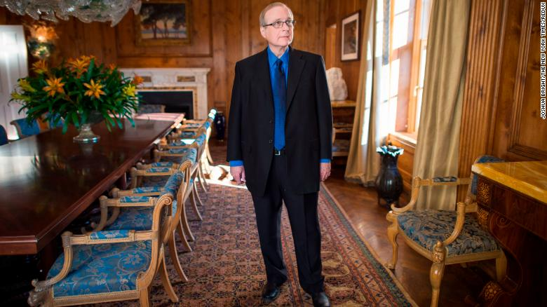 Paul Allen in New York, Oct. 15, 2015. Joshua Bright/The New York Times