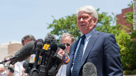 WINSTON SALEM, NC - JUNE 3:  John Edwards' defense attorney Greg Craig of Skadden, Arps, Slate, Meagher