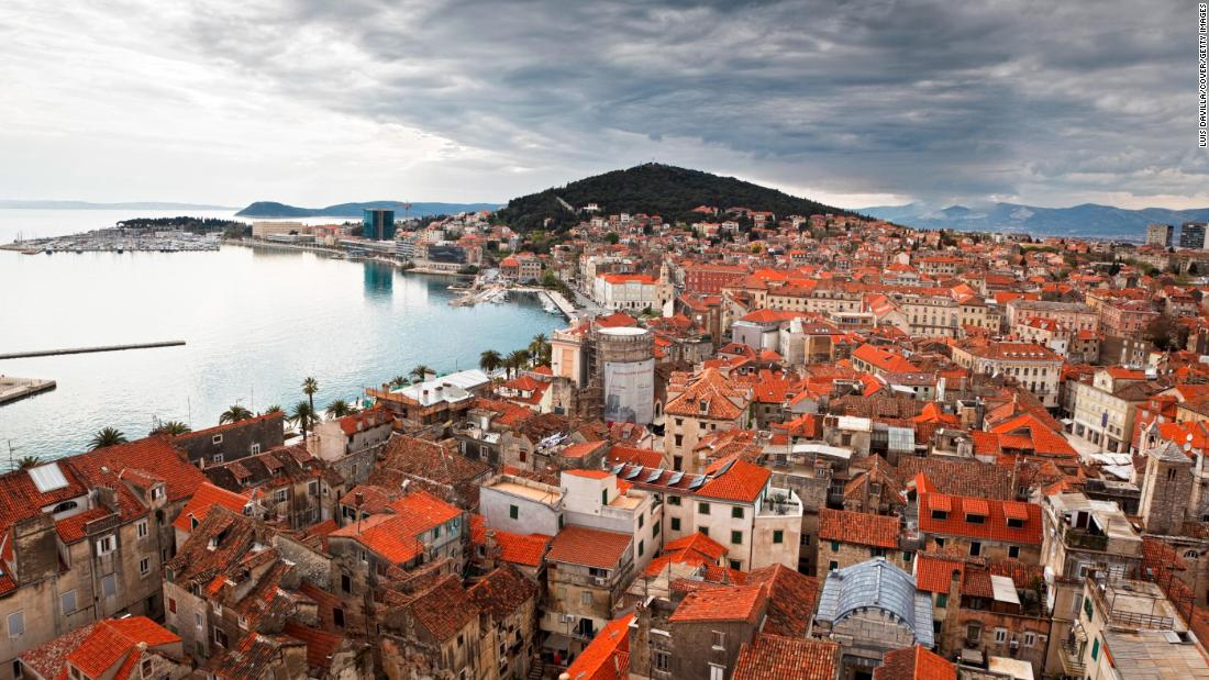 Like Split, Croatia, many of the endangered World Heritage sites sit on or near the water. Our ancestors choose to build there because of the access to fishing and commerce.