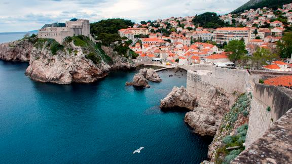 Dubrovnik, a 16th-century citadel and tourist spot on Croatia's Adriatic Sea, is another of the region's most endangered historical sites.
