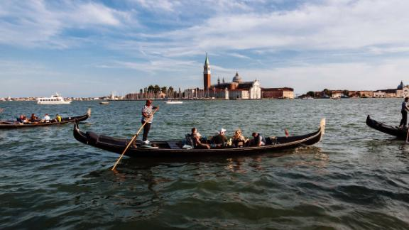 Venice is one of the cities at highest risk of destruction by the effects of climate change. Rising sea waters have flooded the city for centuries, but the study's projections show it could face 8 foot high floods due to rising sea levels within 80 years.
