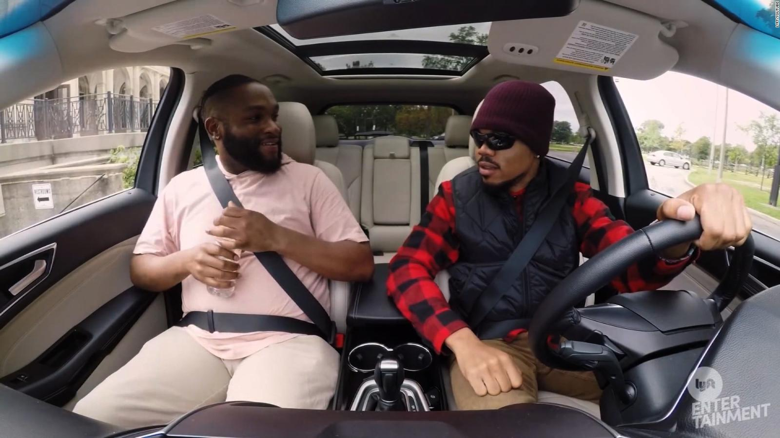 Chance The Rapper Drives Undercover For Lyft