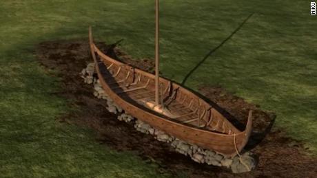 Viking ship found buried in Norway