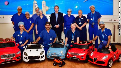 Electric Cars In Hospital Let Kids Drive Themselves To Operating