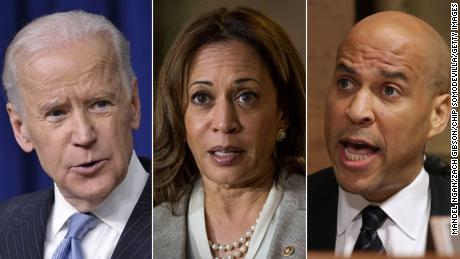 Joe Biden fires back at Booker, Harris with sharp criticism ahead of Democratic debate