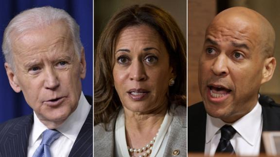 Former Vice President Joe Biden, Senators Kamala Harris and Cory Booker are all either running or thinking about running for President.