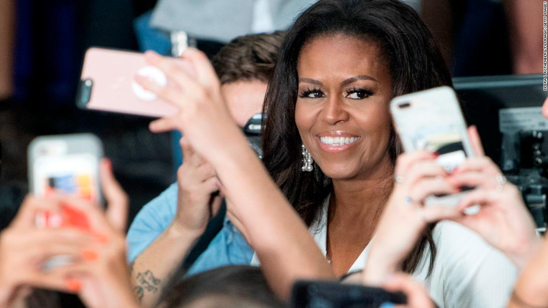 Michelle Obama and the Clintons are touring music venues. Talk is no longer cheap