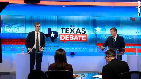 O'Rourke borrows Trump's attack line against & # 39; Lying Ted & # 39; s; Cruz in Texas Senate debate