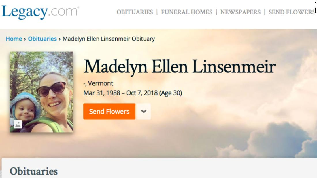 A young mom's powerful obituary is shedding light on opioid addiction