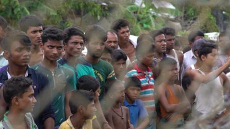 Rohingya refugees stuck in horrific stalemate