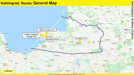Kaliningrad Images Suggest Russian Military Buildup Cnn