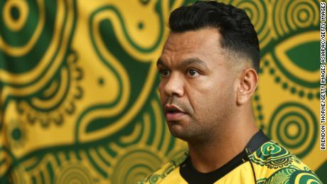 Australia star Kurtley Beale hopes to wear the Wallabies' indigenous shirt at the 2019 World Cup.
