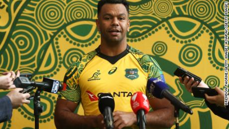 Kurtley Beale hopes an indigenous design will highlight the importance of unity.