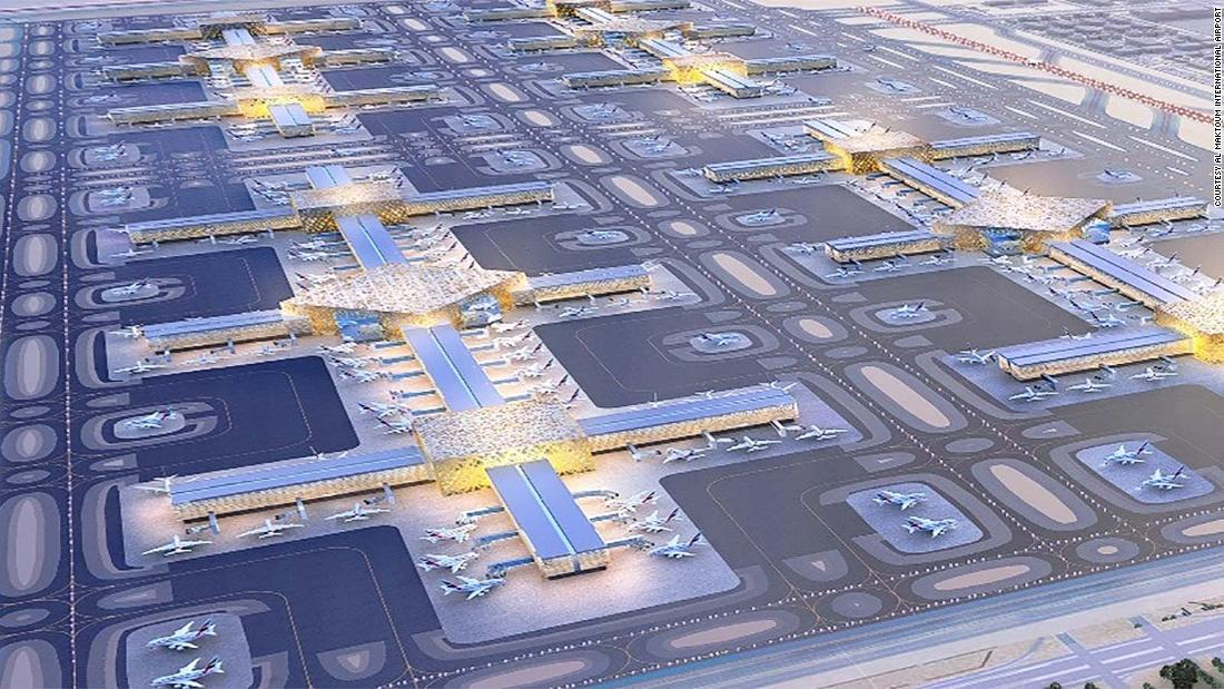 What the airport of 2030 will look like