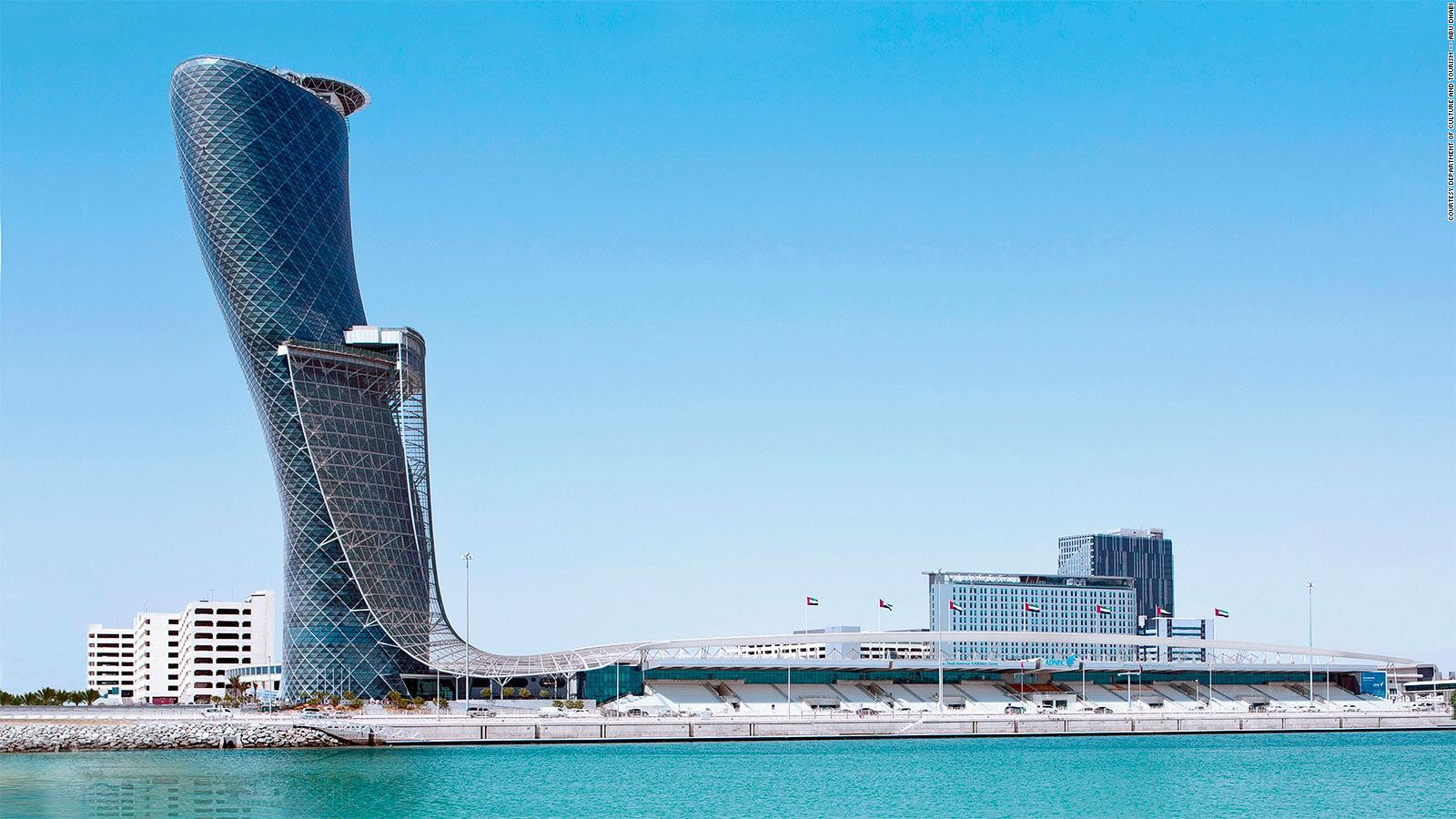 Capital Gate Abu Dhabi S Intriguing Version Of The Leaning