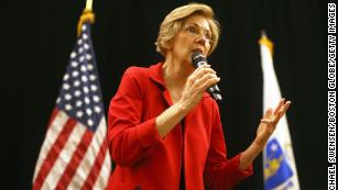 Elizabeth Warren pledges to pick a former public school teacher as secretary of education if elected