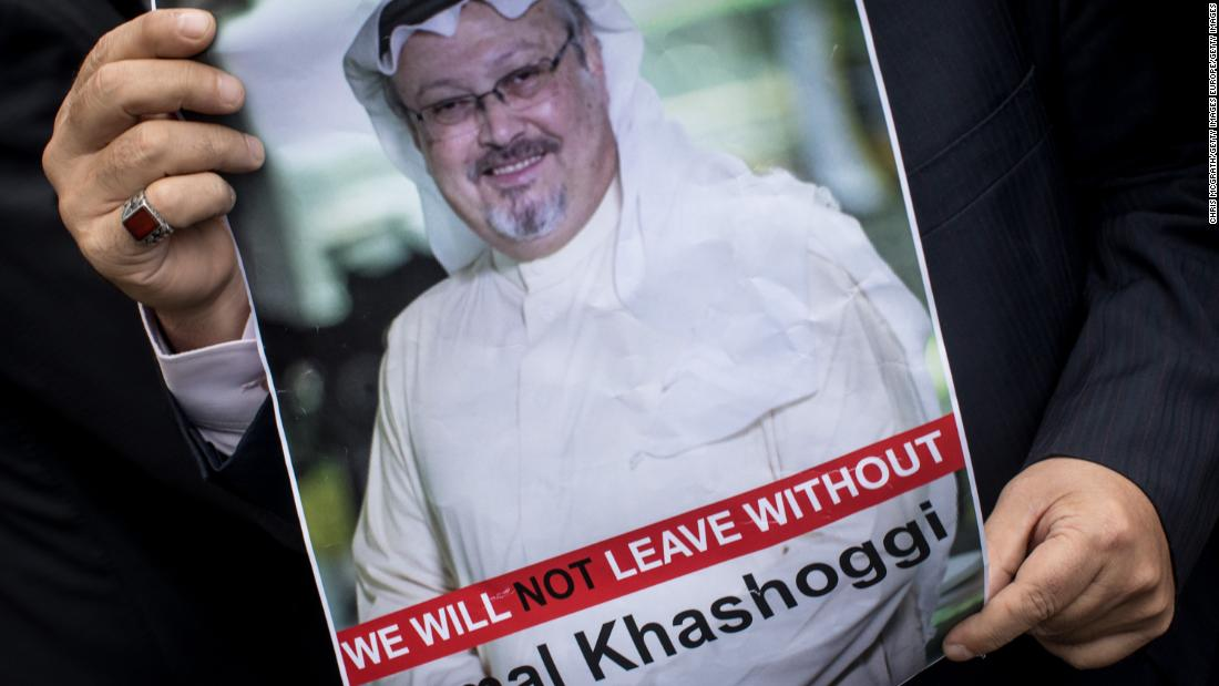 Jamal Khashoggi's final words
