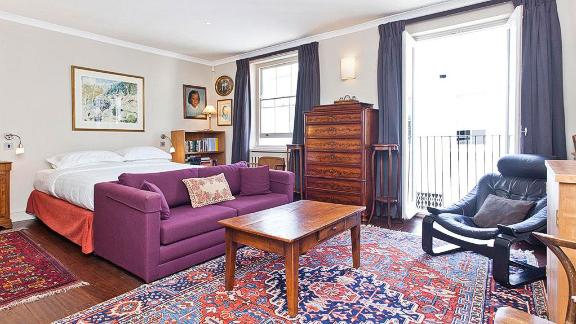 Home away from home: The property sleeps six in spacious, light and airy rooms.