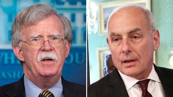John Bolton and John Kelly