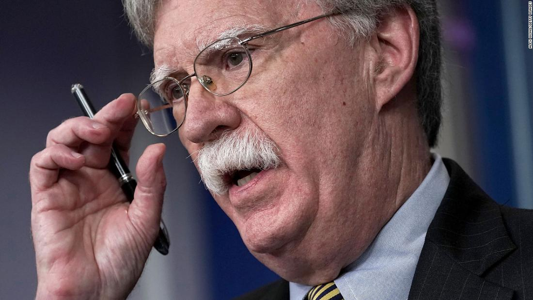 Bolton contradicts Trump, says Syria withdrawal hinges on safety of Kurds