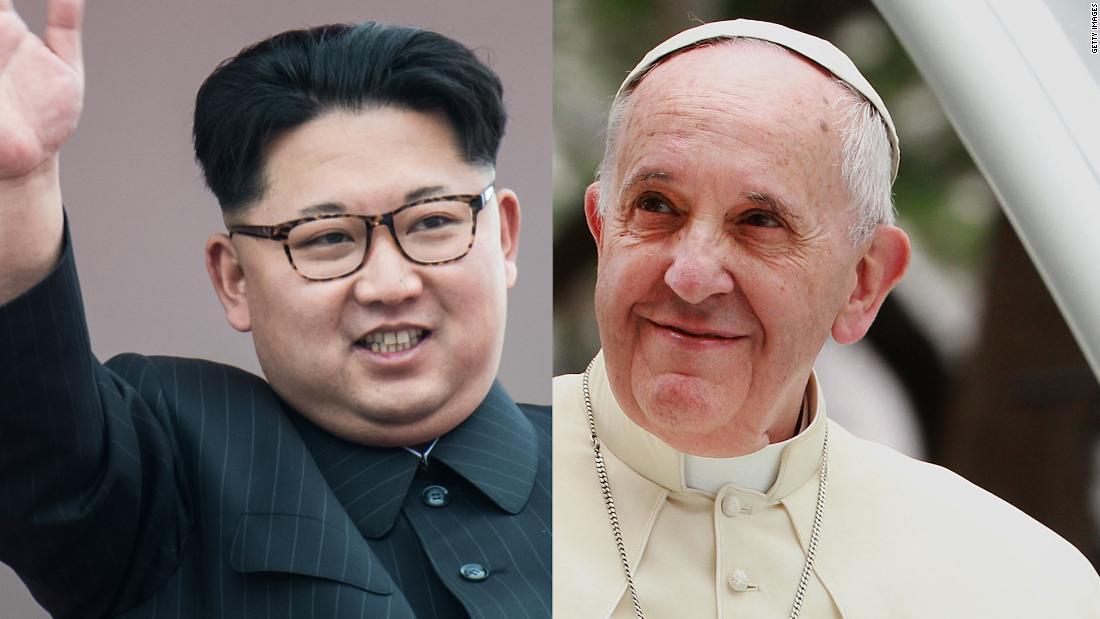 Pope receives Kim Jong Un's invitation to visit North Korea