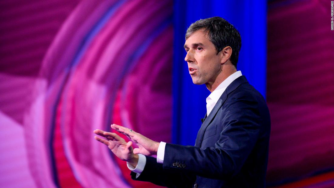 Oprah to interview Beto O'Rourke in Times Square