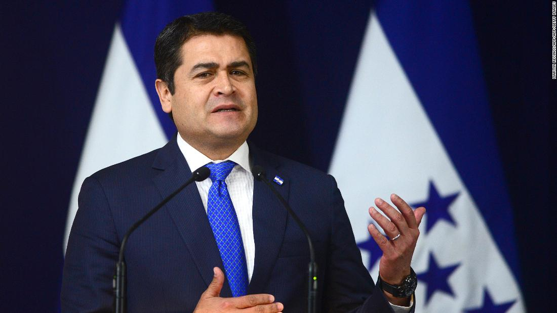 Honduran President's brother found guilty of drug trafficking charges
