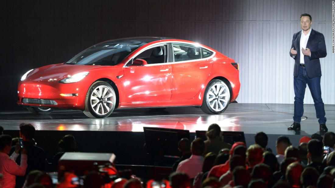 tesla a new cheaper model 3 on its way cnn