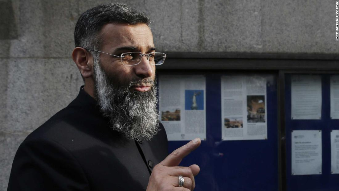 UK Islamist cleric Anjem Choudary released from prison