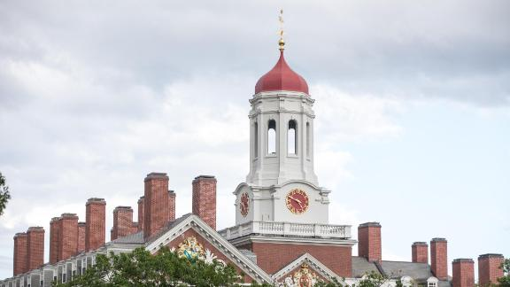 A Harvard University building on August 30, 2018 in Cambridge, Massachusetts. The U.S. Justice Department sided with Asian-Americans suing Harvard over admissions policy.