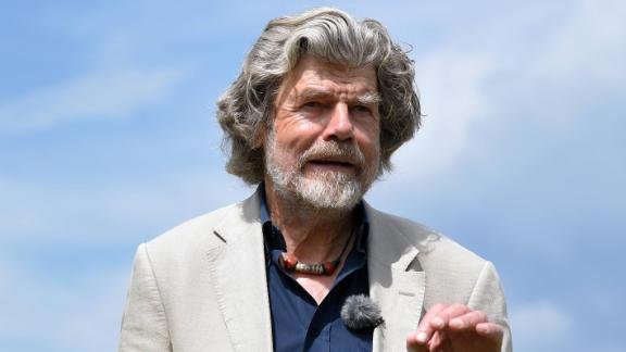 Legendary climber Reinhold Messner