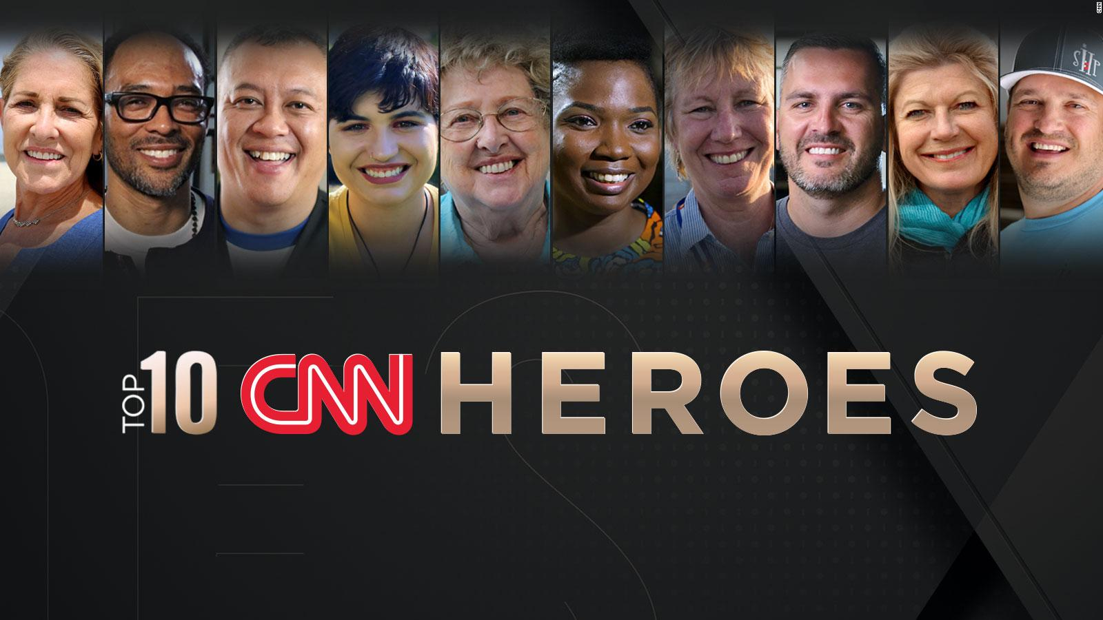 cnn reveals the top 10 cnn heroes of 2018 - cnn