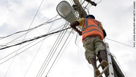 Nigeria's electricity industry has been plagued with power cuts for years.