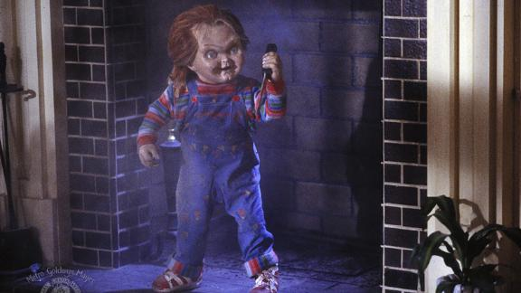 """<strong>""""Child's Play""""</strong>: A murderous doll comes to life in this classic horror film. <strong>(Amazon Prime) </strong>"""